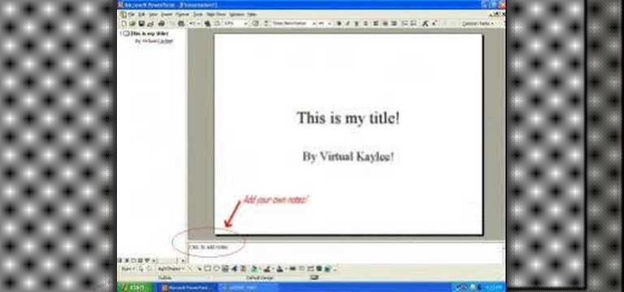 microsoft powerpoint presentation slideshow