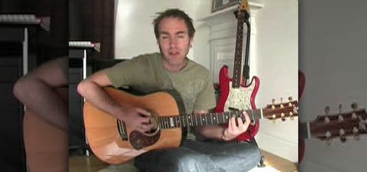 How To Play Trouble Acoustic Guitar Wonderhowto