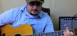 Play Jack Johnson's Sitting Waiting Wishing on guitar