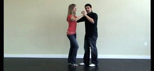 Perform a turn pattern in salsa dancing
