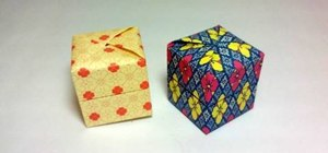 Make a Yami Yamauchi Pandora's Box with origami