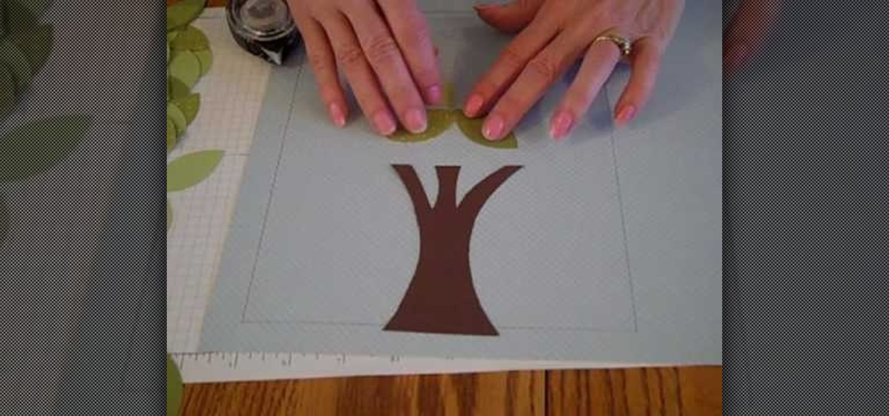 how to commemorate your family by making a family tree papercraft