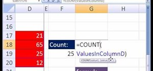 Do dynamic range w/Excel's OFFSET function & top data