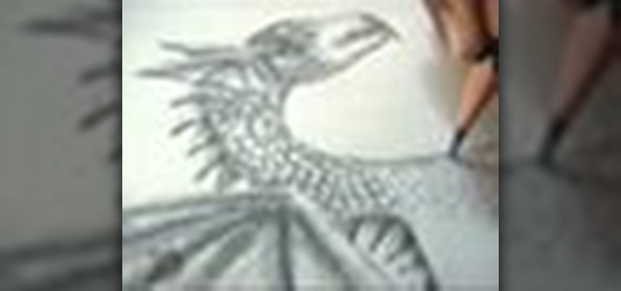 how to draw a realistic looking dragon 171 drawing