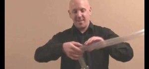 Make a basic balloon laser sword