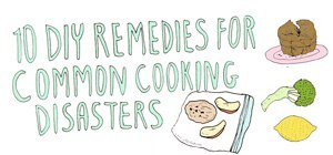 10 DIY Remedies for Common Cooking Disasters