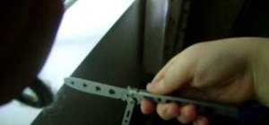 Do a simple opening with butterfly knife or balisong