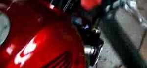 Bleed the brakes on a Honda 919/ Hornet 900