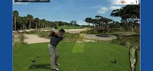 Hit a golf ball