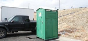 the porta potty trick
