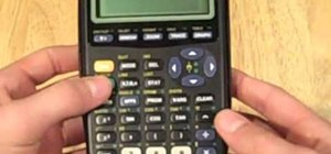 Cheat on a math test using a calculator