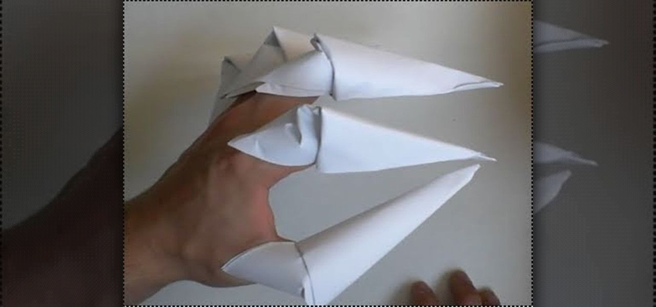 How To Make Origami Dragon Claws How To Make Origami