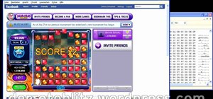Cheat on Facebook's Bejeweled Blitz (07/27/09)
