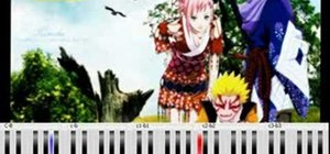 "Play ""Nagareboshi"" from the Naruto Shippuden OST on piano"