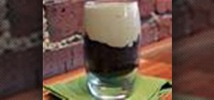 Make a chocolate Guinness cake with Irish Cream