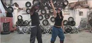 Dance to funk music