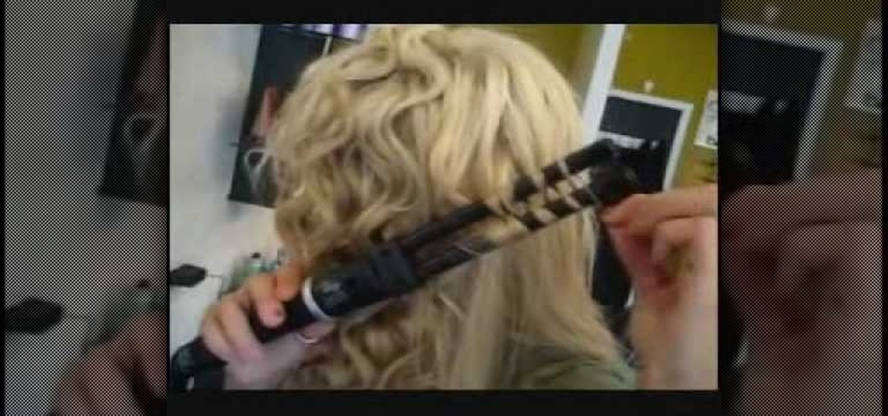 How To Use A Double Barrel Curling Iron To Give Yourself S