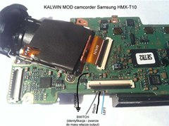 How to Add Mic Input and Headphones Output to Samsung HMX-T10 Camcorder