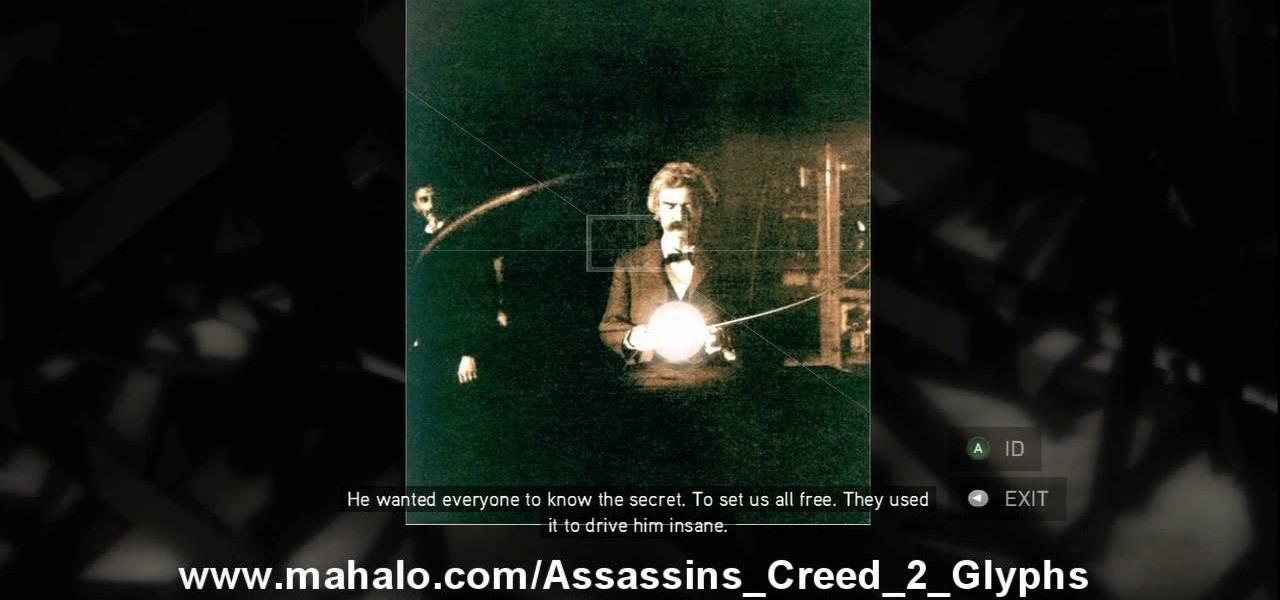 assassins creed 2 glyphen