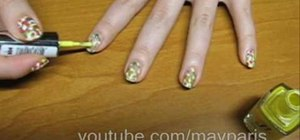 Get colorful spotted nails for summer