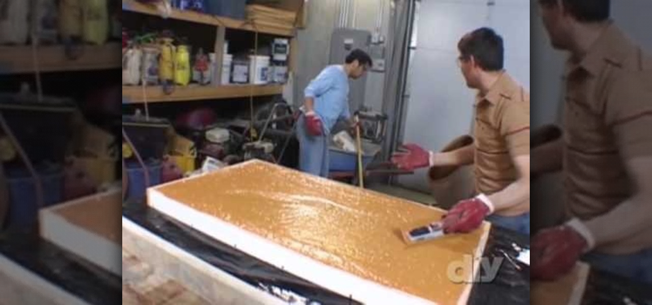 How To Build U0026 Stain Concrete Countertops « Construction U0026 Repair ::  WonderHowTo