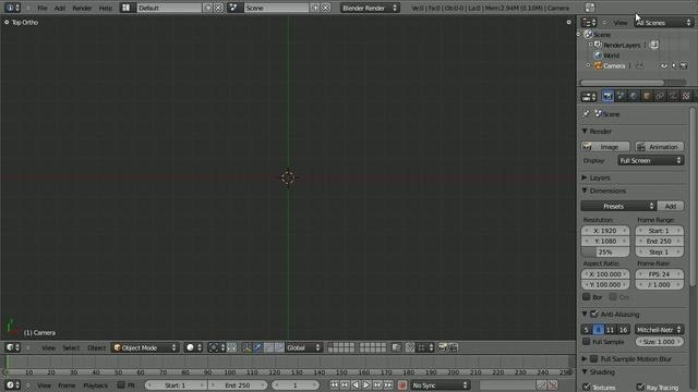 Add detail with displace modifiers in Blender 2.5
