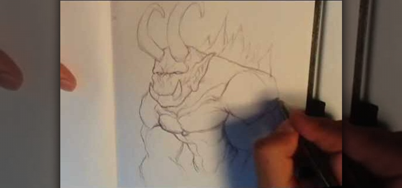 Drawing Demon Art