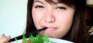 Do a sushi/seaweed facial to hydrate and repair skin