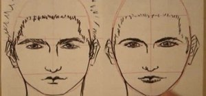 how to draw perfect face