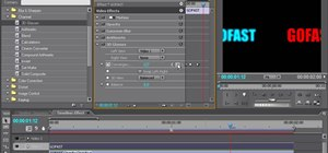 Use blur in-out and 3D glasses effects in Premiere Pro