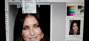 Create a softer skin effect in Paint Shop Pro 8