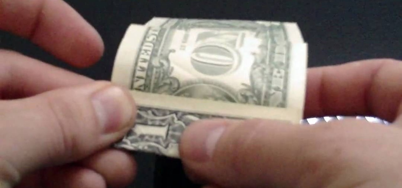 how to fold a very simple origami cube from a dollar bill  u00ab origami