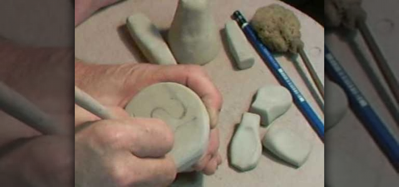 how to make a personal seal or signet out of smooth clay ceramics