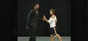 Do a R&B partnering dance combination