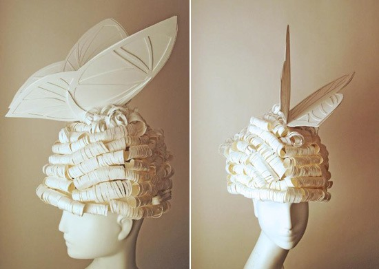 Oh-So-Elegant Paper Wigs