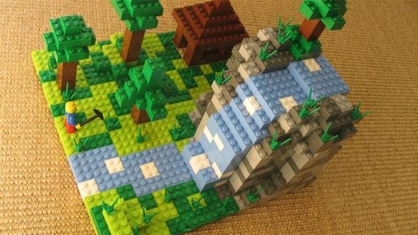 Play Minecraft in Real Life with Official Minecraft Legos