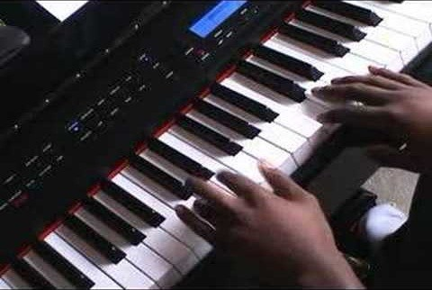 "Play the song ""Superman"" by Five For Fighting on piano - Part 2 of 2"