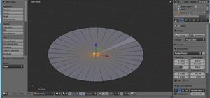 Create a 3D model of a cupcake in Blender