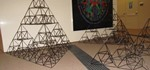 3D Sierpinski Tetraeder Made of Straws