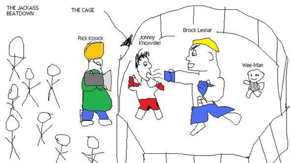 The Jackass Beatdown