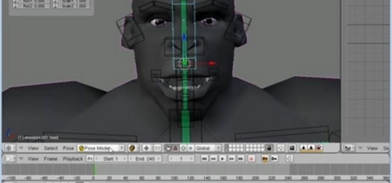 How To Create A Face Rig For A 3d Model In Blender 2 4 Or
