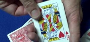 "Perform a ""How'd you do that"" card trick"