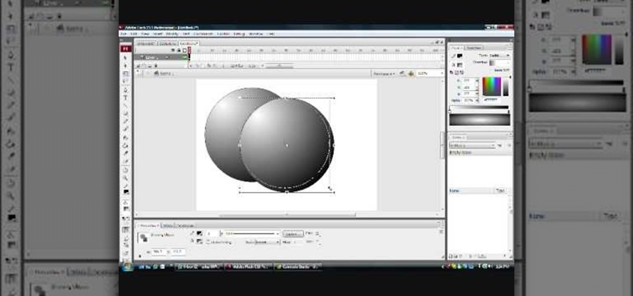 How to create the illusion of 3d shapes in flash adobe flash How to make 3d shapes