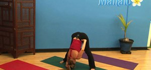 Work a headstand into your yoga routine