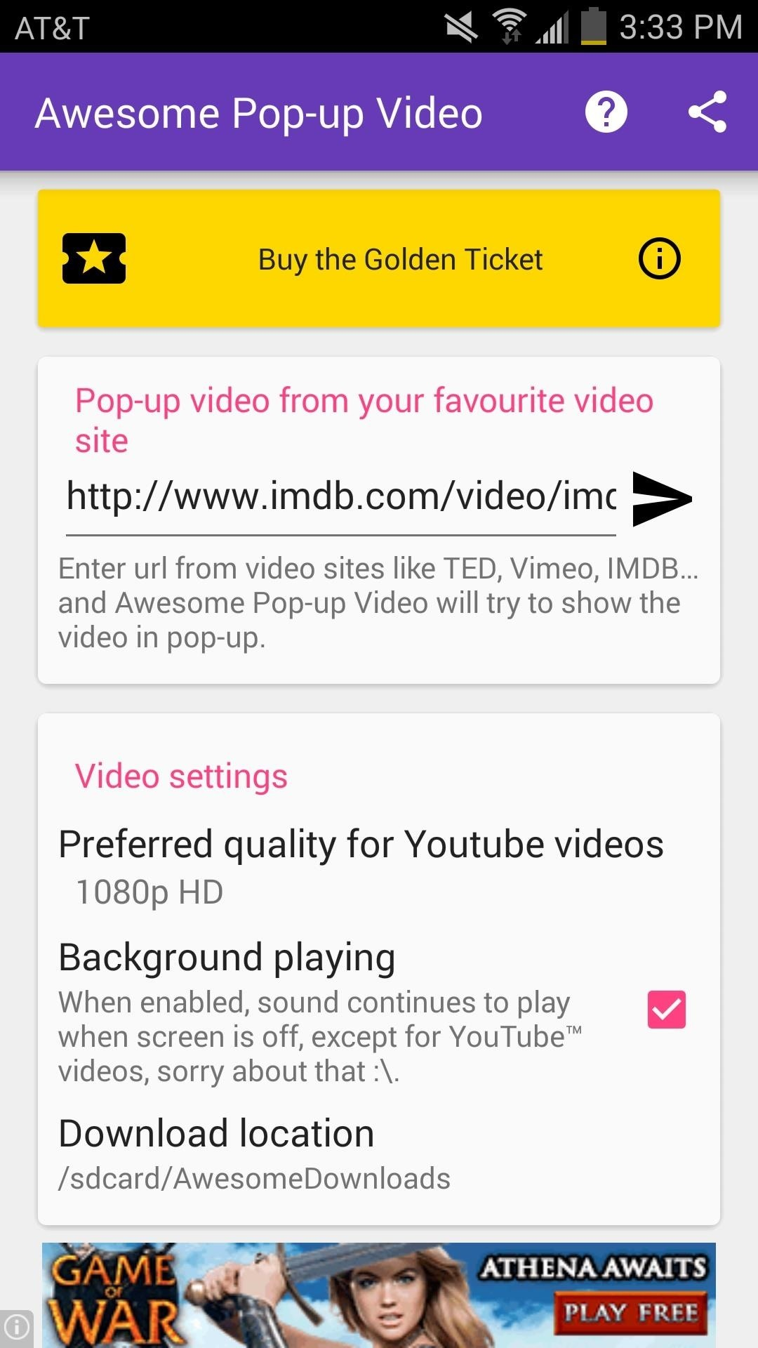 how to connect android youtube to other youtube