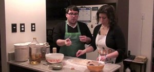Make a vegetarian faux sausage roll