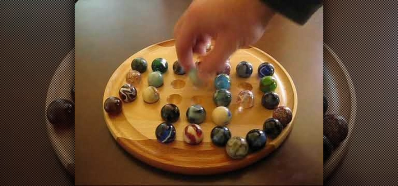 How to Play Marble Solitaire « Board Games :: WonderHowTo