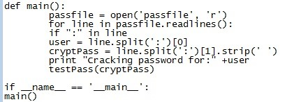 How to Make a Python Basic Unix Password Cracker!
