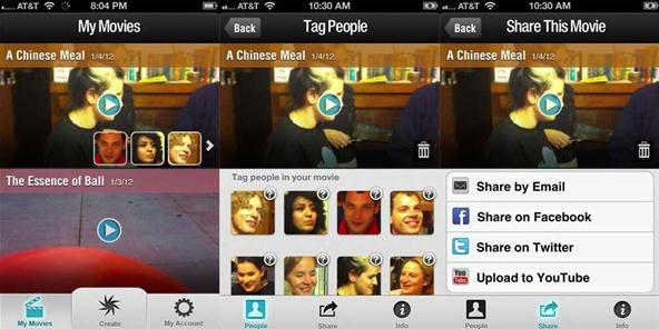 Magisto App for iPhone Released at CES