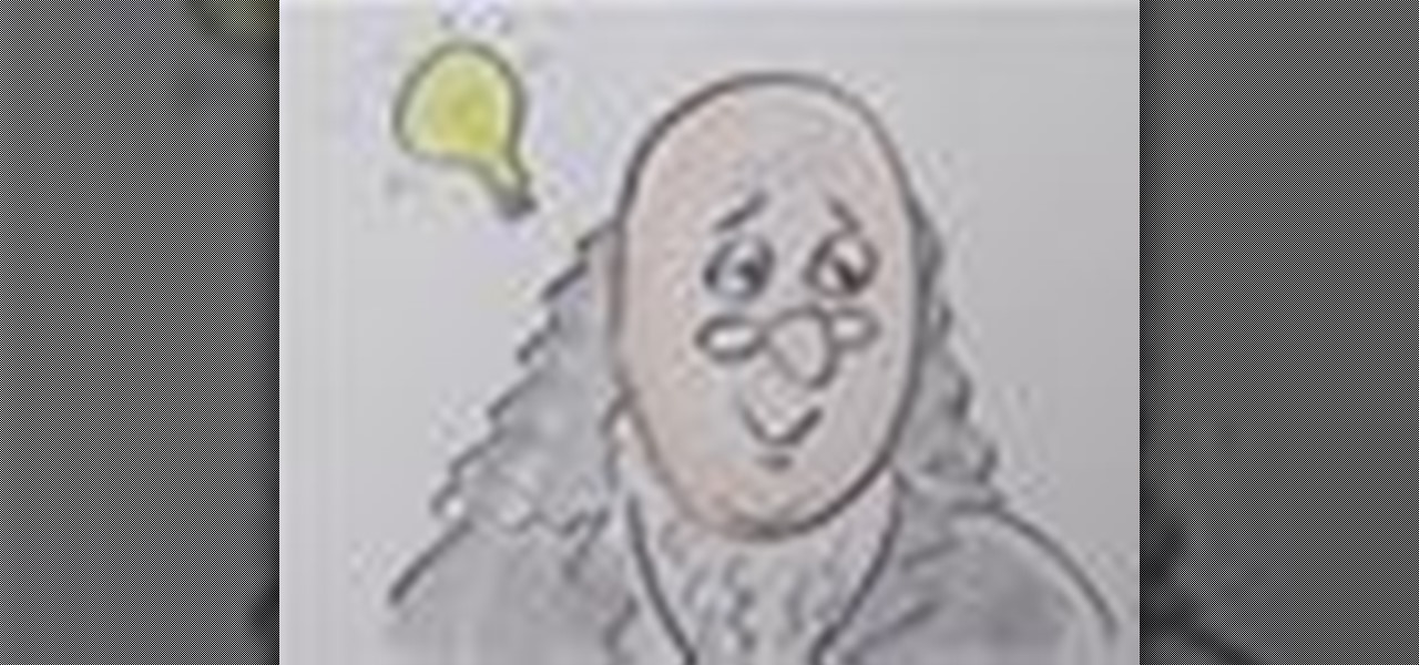 How to Draw a cartoon Benjamin Franklin from the number 100 « Kids ... How To Draw A Train For Kids Step By Step